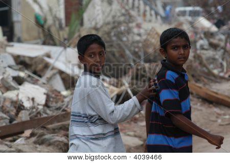 Boys After Tsunami