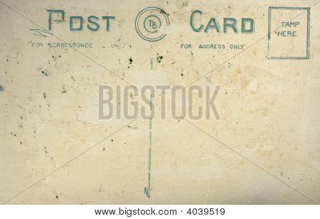 Vintage Old Postcard