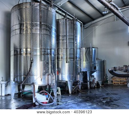Stainless Steel Wine Vats
