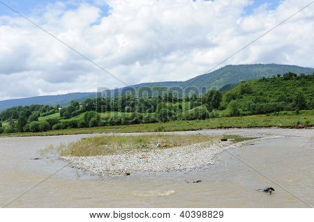Landscape Of Shangri-la Tibetan Rural Area