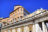 stock photo of apostolic  - Apostolic Palace - JPG