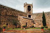 pic of salvatore  - Architectural detail of Montalcino Fortress - JPG