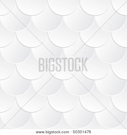 Fish Scale Seamless Pattern