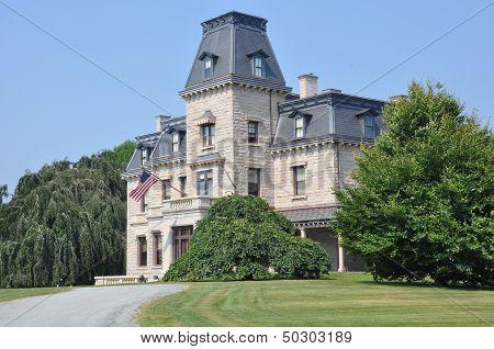 Chateau-sur-Mer in Newport, Rhode Island