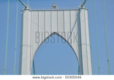 The Newport Bridge in Rhode Island