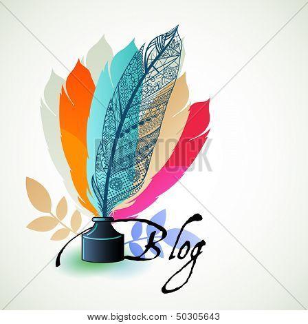 Concepto de blog