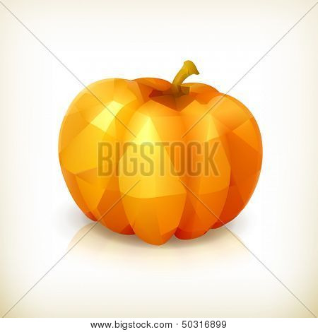 Pumpkin triangulation, icon