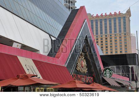 Trump Plaza in Atlantic City, New Jersey