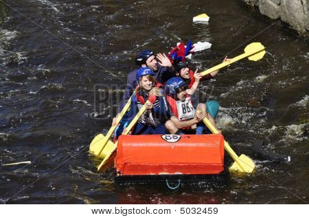 A Funny Boat Race