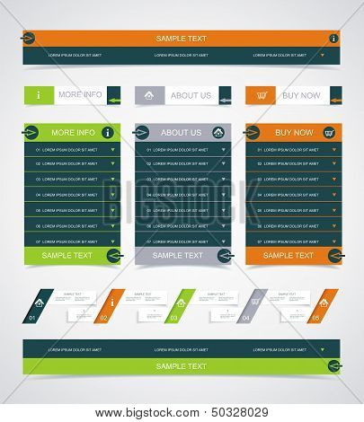 Web Site Design Element