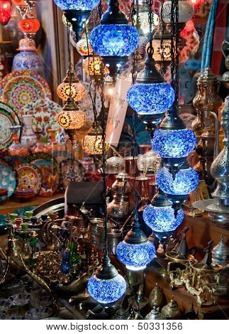 Colorful Traditional Turkish Lights