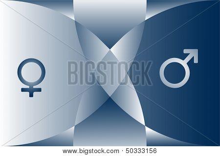 Gender contrast