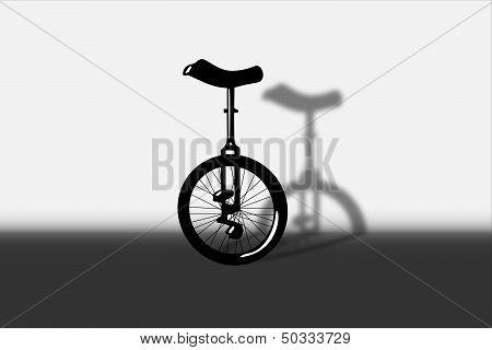 Unicycle portrait