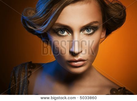 Glamour portrait