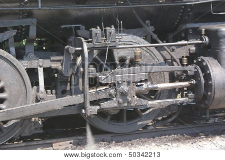 Steam Locomotive drive assembly