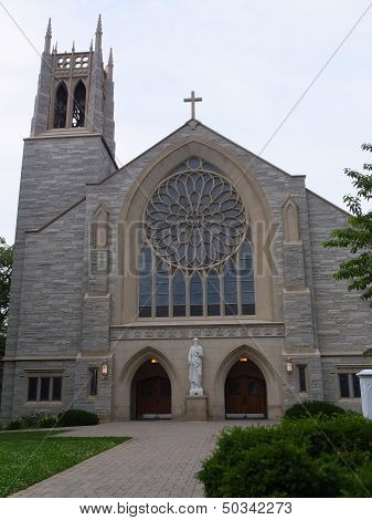 St. Paul's Catholic Church in Princeton, New Jersey