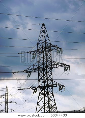 support power lines
