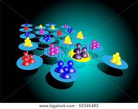 Concept Of Choosing A Team, This Represents Selecting Employee Teams Based On A Criteria, This Best