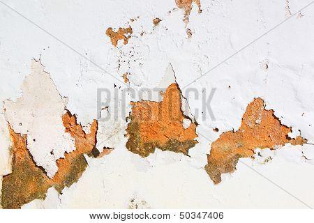 Peeling Paint On Wall