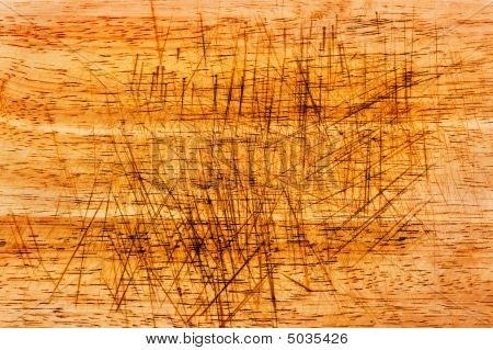 Wood Chopping Board Texture