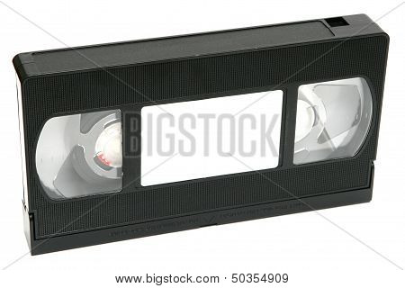 Video Tape On White