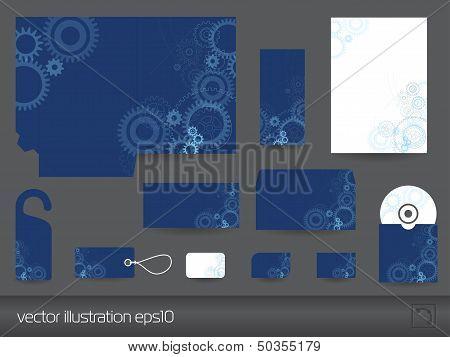 Stationary design set