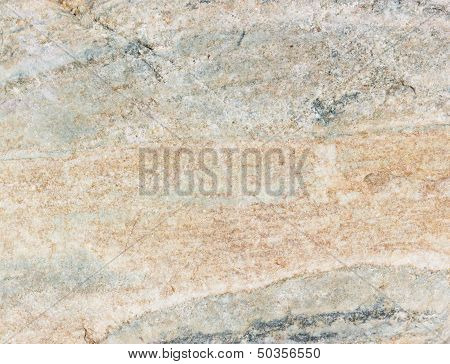 Macro Grey And Beige Rock Texture