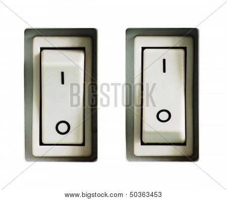 Two Power Switches Isolated