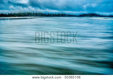 Smooth Coastal Water