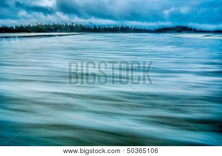 Smooth Coastal Water
