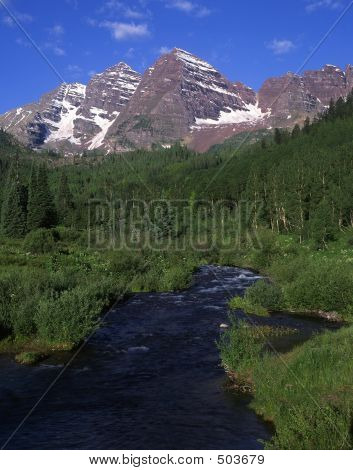 Maroon Bells & Maroon Creek