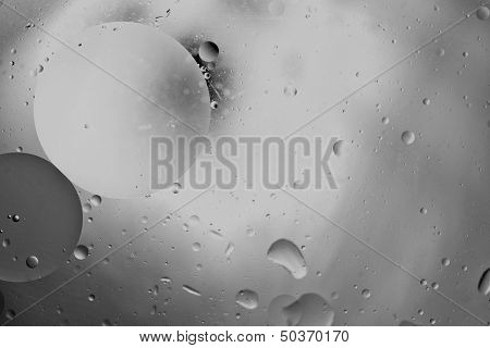 Warm Round Grey Tones Abstract Vertical Design Background Bumps Circles