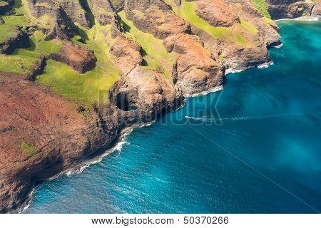 Na Pali Cost On Kauai Island