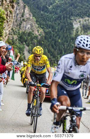 Duel At Alpe D'huez
