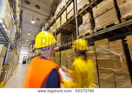 Checking Products In Warehouse