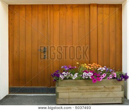 Wooden Door Of House