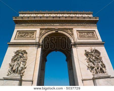Arc De Triomphe, Champs Elysee