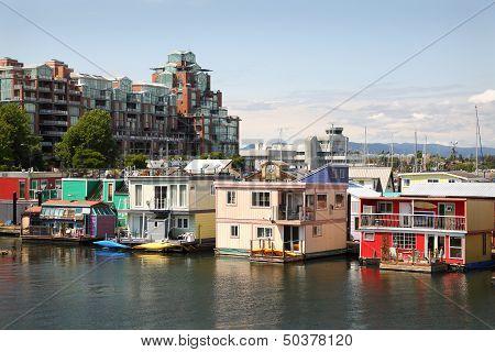 Houseboat Community Victoria, British Columbia