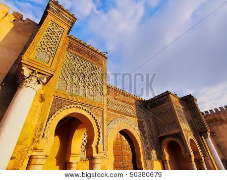 Bab Mansour In Meknes, Morocco