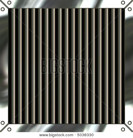 Shiny Metal Grille