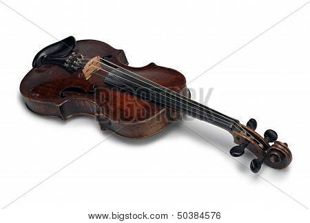 Beautiful Old Wooden Violin