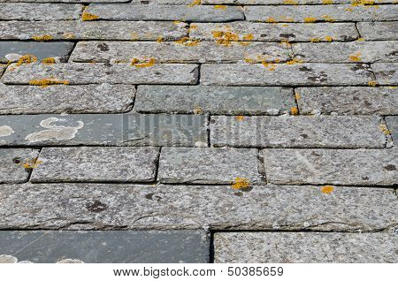 Cornish slate roof tiles