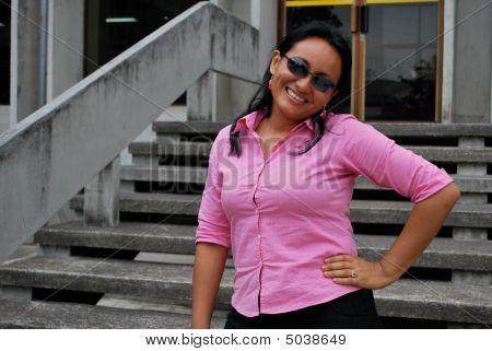 Beatiful Hispanic Mother