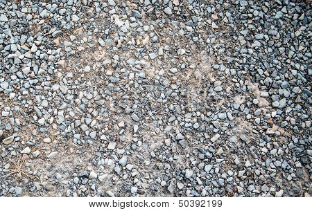 Macadam texture background