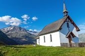 Small church in the alps