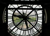 picture of muse  - As it does everywhere time looms large over Paris where from behind a huge glass clock face in the Musee d - JPG