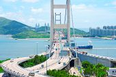 image of tsing ma bridge  - Tsing Ma Bridge - JPG
