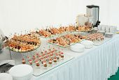 image of banquet  - Various meat - JPG