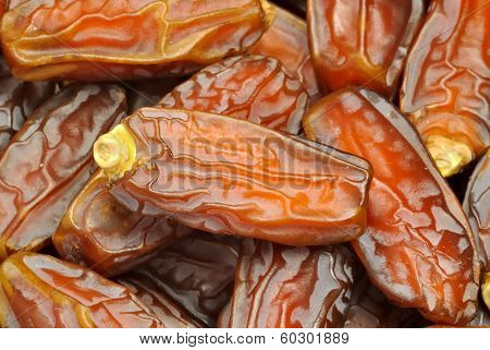 Date Fruits Macro