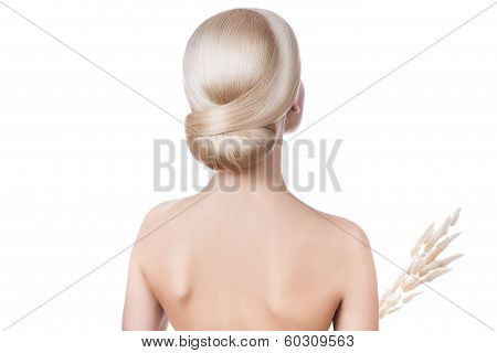Hairstyle Blonde Girl.